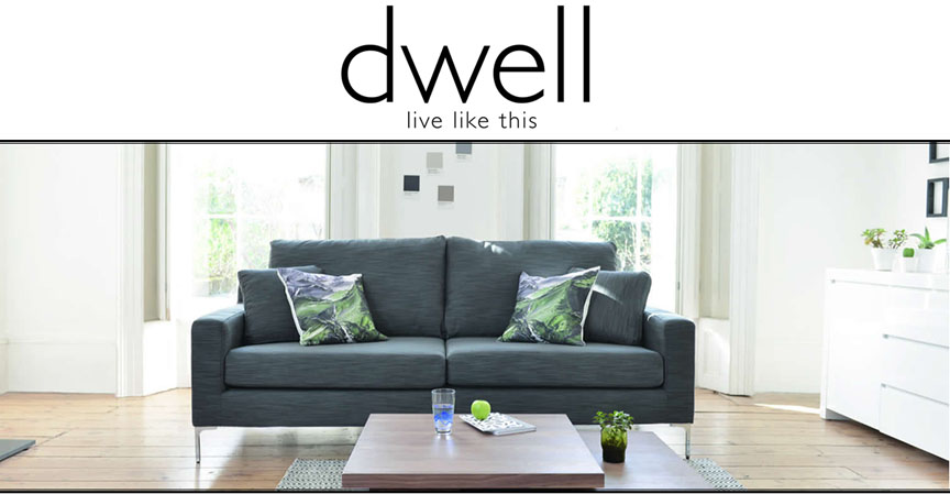 Stylish modern furniture from dwell. We specialise in sofas, upholstery, dining tables, chairs, bedroom furniture and home accessories at great prices.